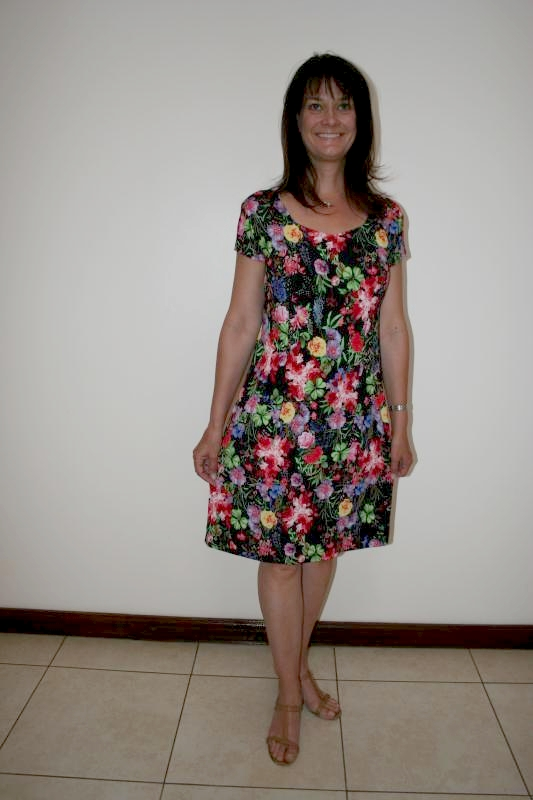 floral-ladies-dress