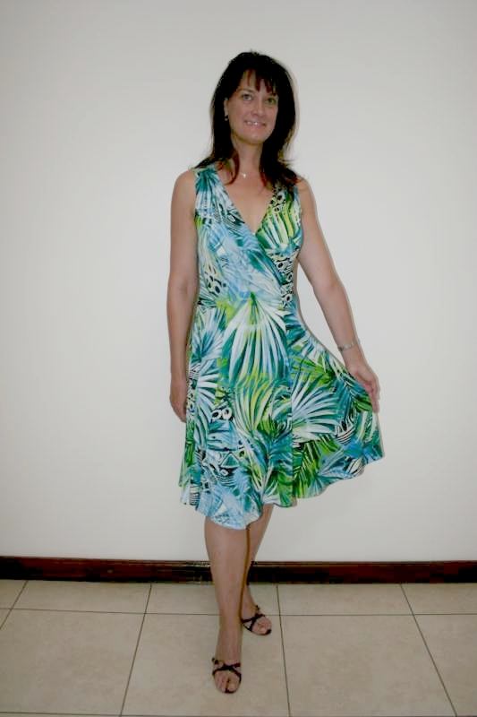 exotic-flared-dress